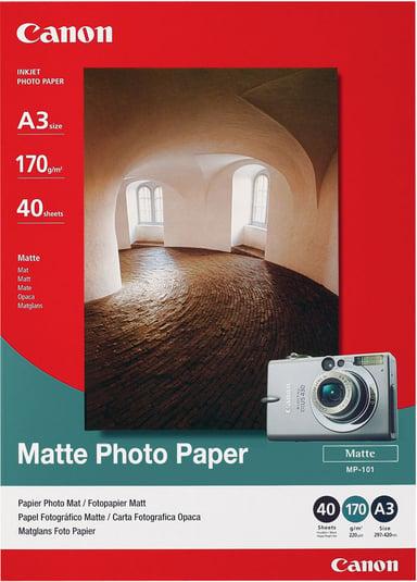 Canon Papir Photo Mattert MP-101 A3 40-ark 170G