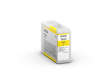 Epson Muste Keltainen HD T8504 80ml - SUREColor P800