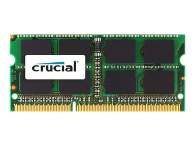 Crucial DDR3 8GB 1,600MHz DDR3 SDRAM SO DIMM 204-pin