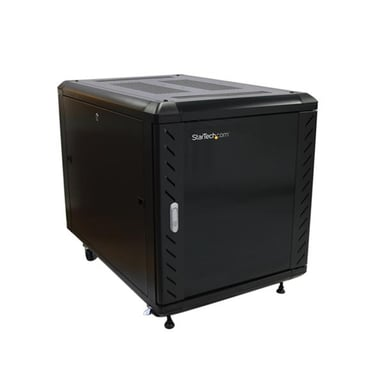 Startech 12U 36in Knock-Down Server Rack Cabinet with Casters null