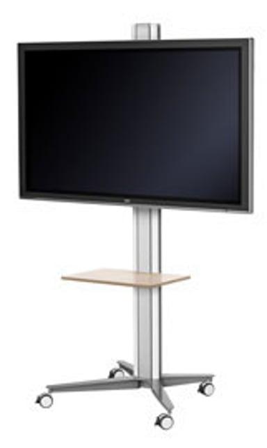 SMS Flatscreen X FH M1455 Floorstand White/Silver