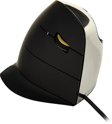 Evoluent Verticalmouse C Wired Right Mus Kabling Grå Sort