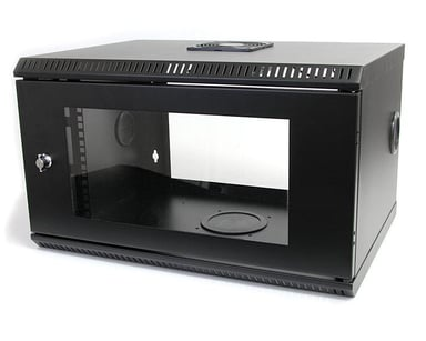 Startech 6U 19in Wall Mount Server Rack Cabinet with Acrylic Door