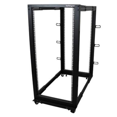 Startech 25u Open Frame 4 Post Rack Cabinet