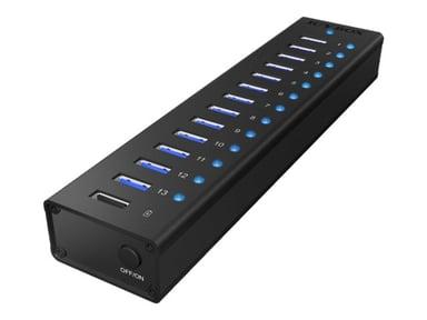 Raidsonic Icy Box Ib-AC6113 USB Hub 14X USB 3.0 USB Hub