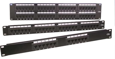 Direktronik Patchpanel 24 portar Oskärmad (UTP) CAT 6