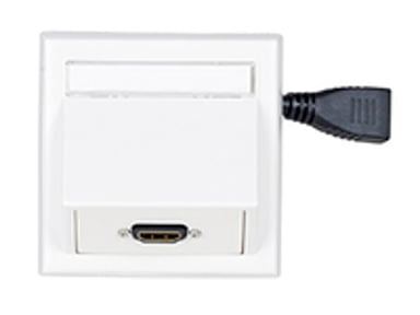 Microconnect Wall Connection Box Outlet HDMI