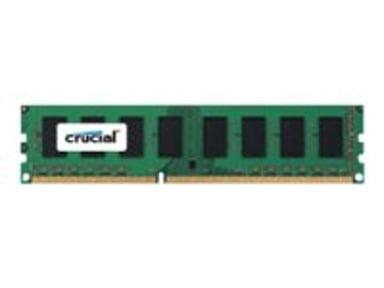 Crucial DDR3 8GB 1,600MHz DDR3L SDRAM DIMM 240-pin