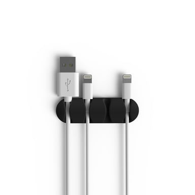 Bluelounge Cabledrop Multi Black 2-Pack