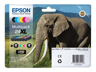 Epson Blæk Multipak Foto 24XL 6-Color