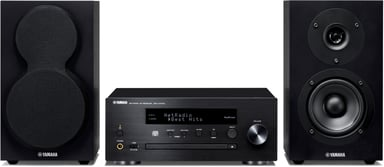 Yamaha MCR-N470D - Black