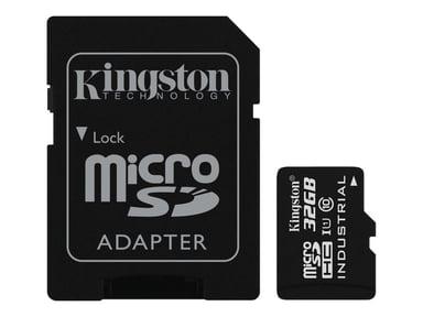 Kingston Flashhukommelseskort 32GB microSDHC UHS-I Memory Card