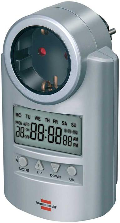 Brennenstuhl Digital Timer 12/24H Silver