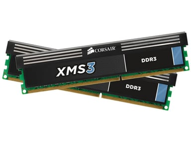 Corsair Xms3 8GB 1,600MHz DDR3 SDRAM DIMM 240-pin