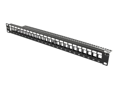 Deltaco Patchpanel 24 portar