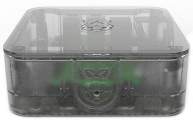 Designspark Quattro Case For Raspberry Pi 3 B+ Clear