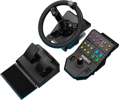 Logitech G Farm Simulator Bundle Musta