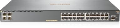 Aruba 2540 24xGbit, SFP+ PoE+ 370W Web-mgd Switch
