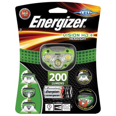 Energizer Head Lamp Vision HD 3 + 2 LED 200 Lumen