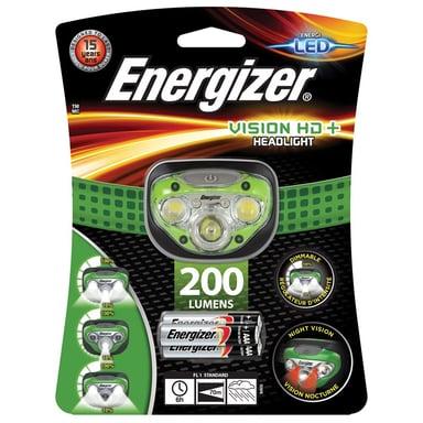 Energizer Hodelykt Vision HD 3 + 2 LED 200 Lumen null
