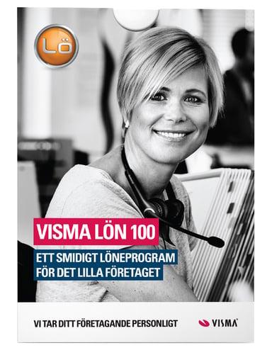 Visma SPCS Lön 100 Win Swe + Sub 1Y 3-Employees E-Lic