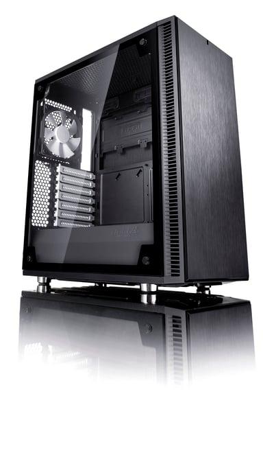 Fractal Design Define C Tempered Glass Svart