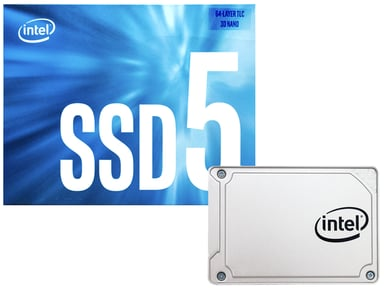 "Intel Solid-State Drive 545S Series 256GB 2.5"" Serial ATA-600"