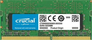 Crucial DDR4 8GB 2,400MHz DDR4 SDRAM SO DIMM 260-PIN