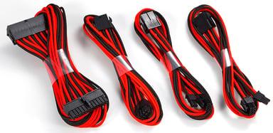 Phanteks Extension Cable Combo Musta Punainen