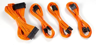 Phanteks Extension Cable Combo Orange