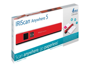 Iris IRIScan Anywhere 5 Red