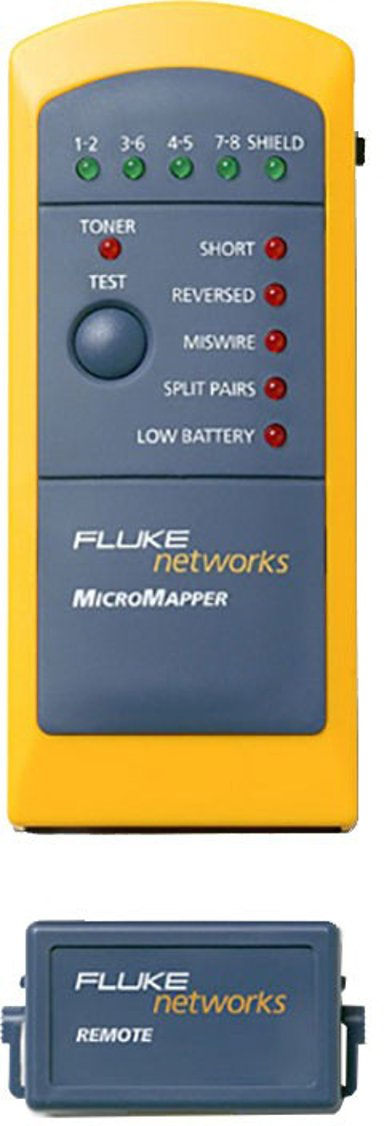 Fluke Networks Micromapper Network Tester