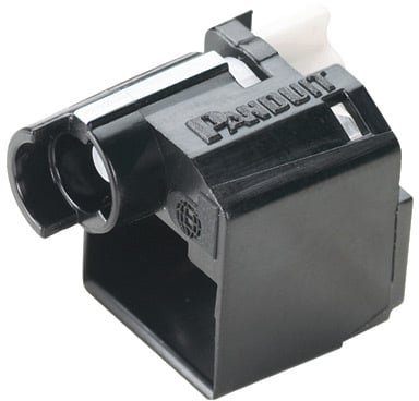 Direktronik RJ45 kabellås 10-pack svart