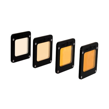 Lume Cube Light-House Filters CTO Gel 4-Pack