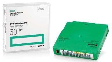HPE LTO-8 Ultrium 30TB RW Data Cartridge LTO Ultrium 30Tt 1kpl