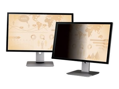 "3M Databeskyttelsesfilter til 27"" widescreen-skærm 27"" bred 16:9"