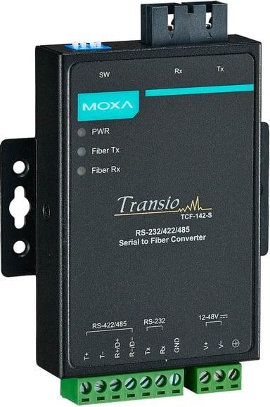 Moxa TCF-142-S-SC FIBER MEDIA CONVERTER SC#demo