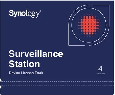 Synology Surveillance Device Licens 4 stk.