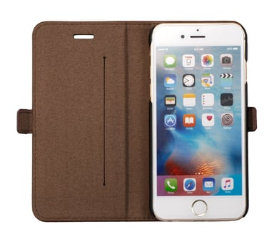 Cirafon Cirafon Pu Leather Wallet iPhone 6/6s Ruskea