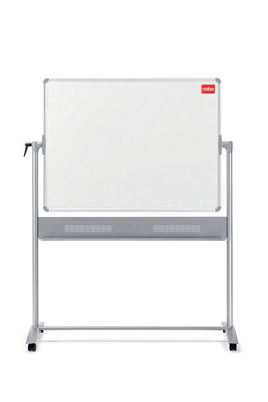 Nobo Whiteboard Mobile 150x120cm Enamelled
