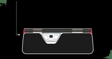Contour Design Rollermouse Red Plus Wireless 2,800dpi Trådløs Sort
