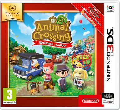 Nintendo Animal Crossing: New Leaf - Welcome amiibo Nintendo 3DS