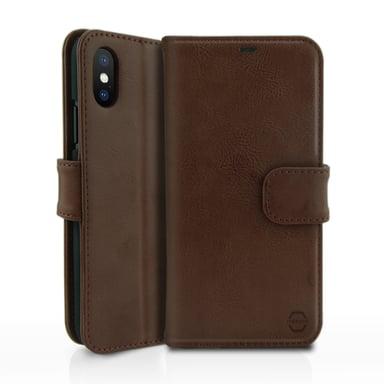 Cirafon Wallet Book iPhone X Bruin