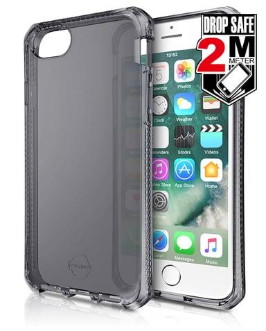 Cirafon Spectrum Drop Safe iPhone 6/6s iPhone 7 iPhone 8 iPhone SE (2020) Svart på transparent