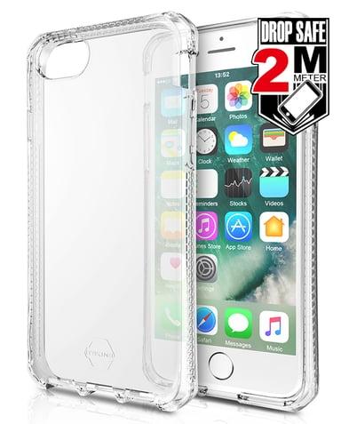 Cirafon Spectrum Drop Safe iPhone 6/6s iPhone 7 iPhone 8 iPhone SE (2020) Gjennomsiktig