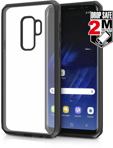Cirafon Venum Reloded Drop Safe Samsung Galaxy S9 Plus Hienostunut musta Läpinäkyvä Musta läpikuultavalla