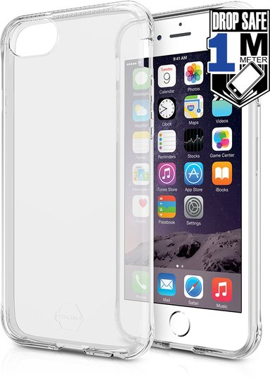 Cirafon Zero Gel Drop Safe iPhone 6/6s Helder transparant
