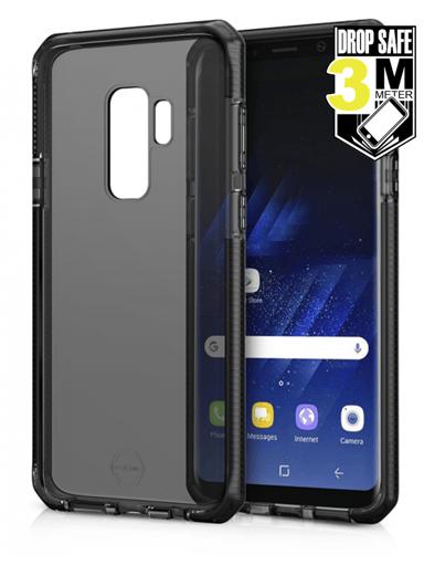 Cirafon Supreme Drop Safe Samsung Galaxy S9 Plus Läpikuultava musta Musta