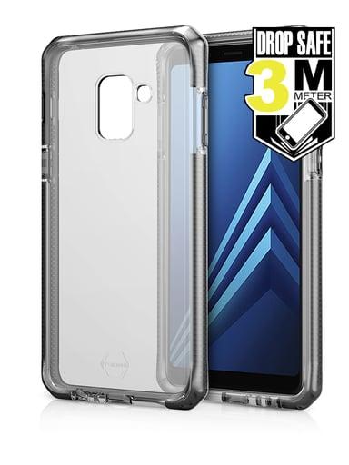 Cirafon Supreme Drop Safe Samsung Galaxy A8 (2018) Vaalean harmaa