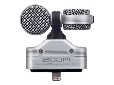 Zoom IQ7 Stereomic For Iphone/Ipad Lightning Silver